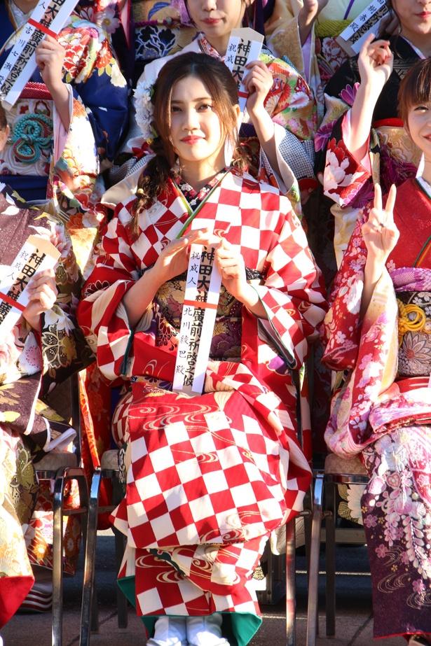 SKE48・北川綾巴は「SKE48が毎年にナゴヤドームに立てるくらいビッグになりたい」と語った