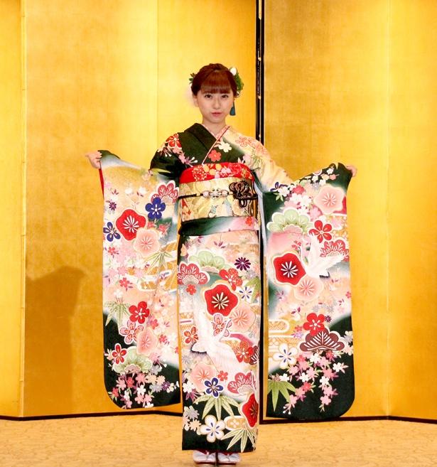 「AKB48グループ2019年新成人メンバー成人式記念撮影会」に出席したBNK48の大久保美織