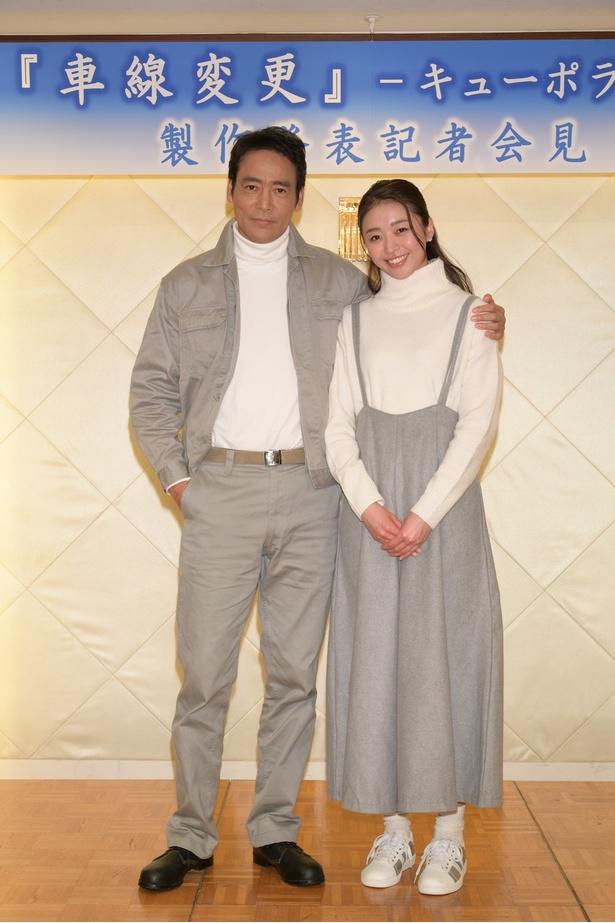 【写真を見る】中川知香は新ドラマ出演も話題のスレンダー美女だ