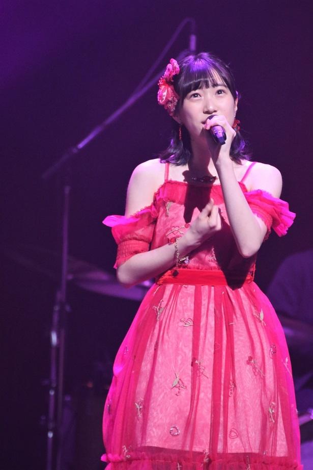 第1組5人目 HKT48・坂本愛玲菜「赤いスイートピー」