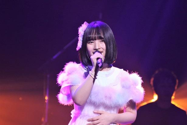 第3組4人目 AKB48・矢作萌夏「瞳」