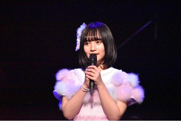 2位の矢作萌夏さん(AKB48)