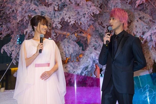 横浜流星と主演の深田恭子