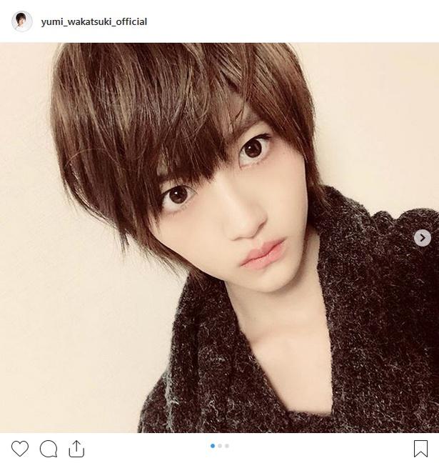※画像は若月佑美(yumi_wakatsuki_official)公式Instagramのスクリーンショット