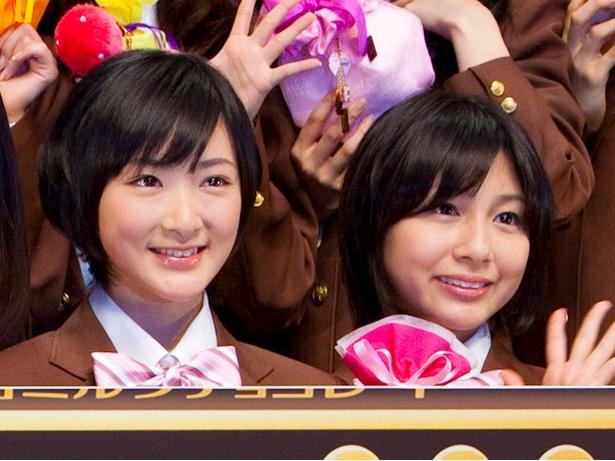【写真を見る】乃木坂46時代の生駒里奈と市來玲奈アナ