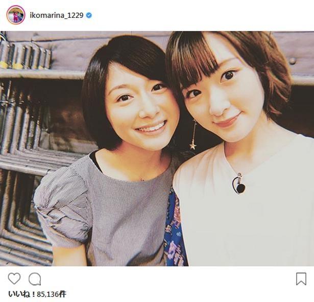 ※画像は生駒里奈(ikomarina_1229)公式Instagramのスクリーンショット