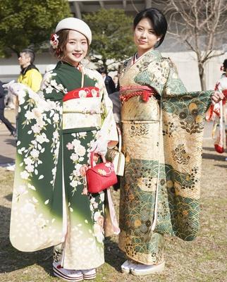 北九州市の成人式で見つけた振袖美人 みさきさん しょうこさん