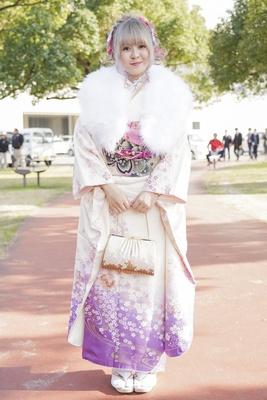 北九州市の成人式で見つけた振袖美人 さやさん