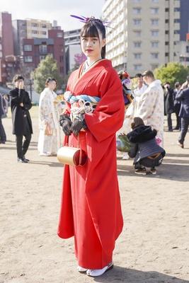 北九州市の成人式で見つけた振袖美人 東京でモデルとして活躍するNina(ニーナ)さん