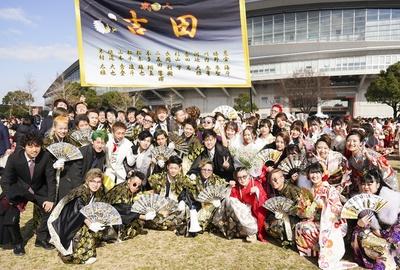 吉田中学校の同級生のみなさんと仲良しメンバー