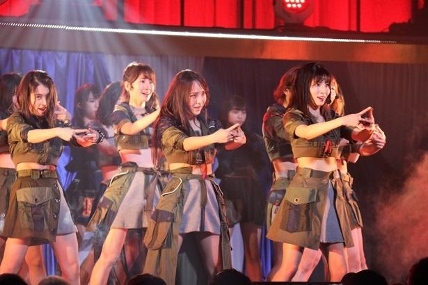 「AKB48 チームB単独コンサート~女神は可愛いだけじゃない~」の様子(13)