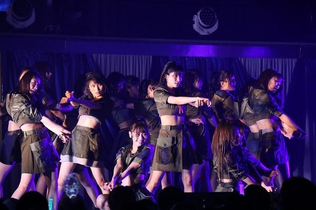 「AKB48 チームB単独コンサート~女神は可愛いだけじゃない~」の様子(15)