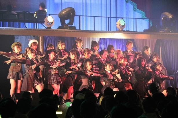 TOKYO DOME CITY HALLで「AKB48 チーム4単独コンサート~友達できた~」が行われた