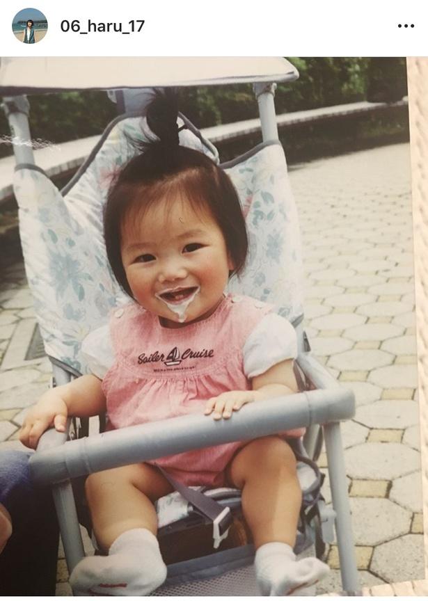 幼少期の波瑠に「ちびっ子はるちゃんかわいいいい」と悶絶コメントが殺到!