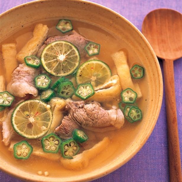 シンプルな味でさらりと食べられる!「さっぱり豚汁」