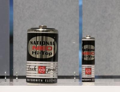 マンガン乾電池NEO Hi-Top(1969年発売)/パナソニックミュージアム
