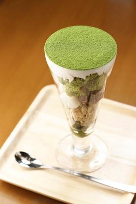 静岡抹茶パフェ(880円)