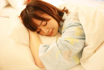 「お腹もココロも大満足で、眠くなってきちゃいました。おやすみなさいっ!」