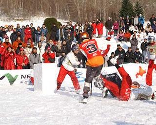 北海道が誇る火山で今年も雪合戦の世界一決定戦が開幕