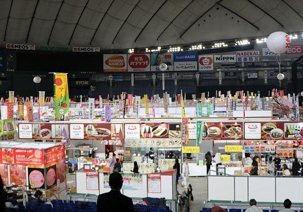毎年約40万もの人が来場する「ふるさと祭り東京」