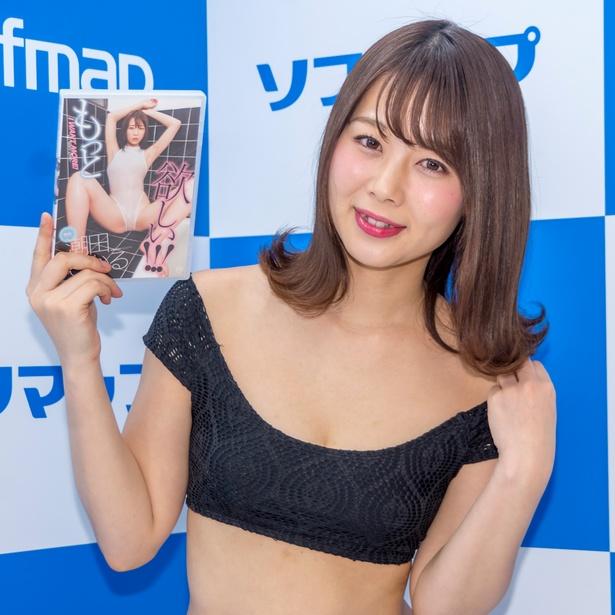 潮田ひかるDVD「もっと欲しい!!!」(スパイスビジュアル)発売イベントより