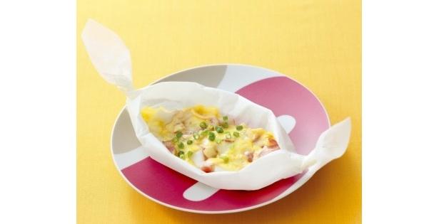 『らき☆すた』の「お餅うにょ~ん」というセリフからインスピレーションを受けて制作された「ベーコン☆もっちーず」は1日限定5食が「大酉茶屋わしのみや」にて提供される
