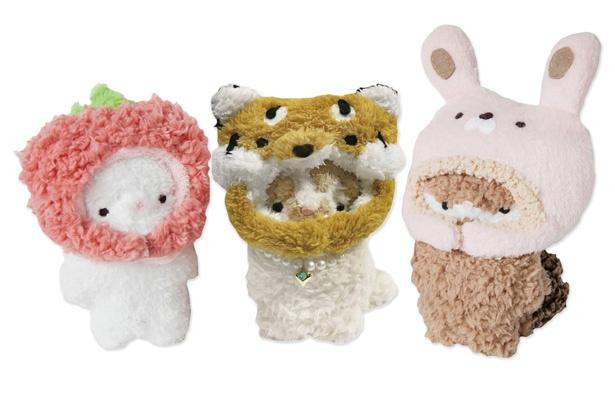 ぬいぐるみ作家RUBIA-ARGYIとスター猫のコラボ商品
