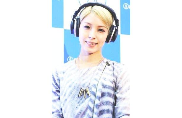 K-POPのパイオニア・BoAさんがヘッドフォンの新製品をPR