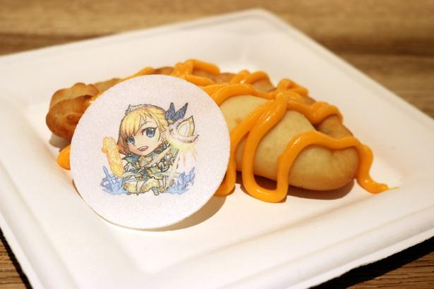『モンスターストライク』コラボフード・モンストピザ、アーサー(チーズソース)
