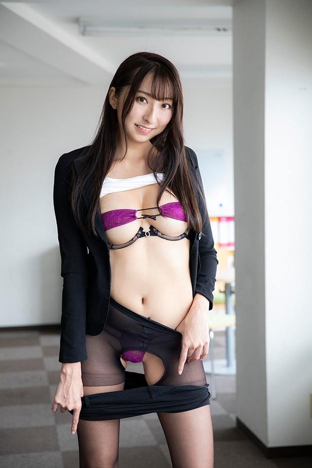 緒方咲DVD「恋、咲きみだれて」(ギルド)より