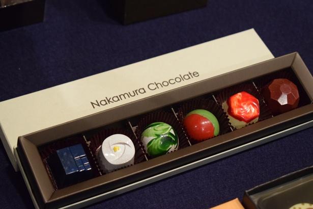 大胆かつ斬新なデザインが特徴的な「ナカムラチョコレート」