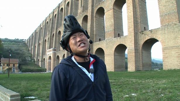 みやぞんのイタリア・自転車の旅