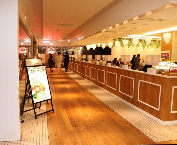 渋谷ヒカリエのレストランフロア(6・7階)が、開業以来初のリニューアル