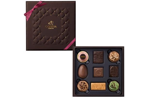 高級チョコレートブランド「GODIVA」の「ベルジアン フェイバリット アソートメント 9粒入」(3,996円)