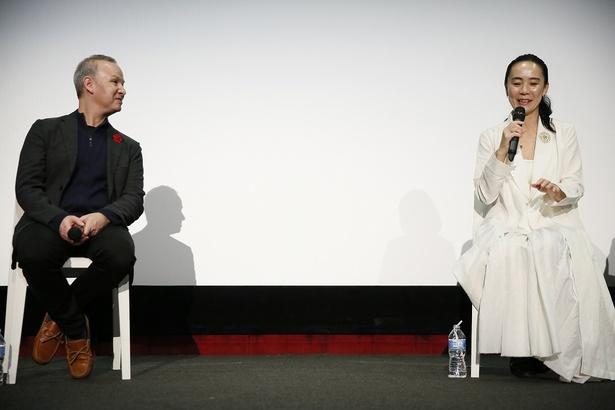 【写真を見る】河瀨監督によるマスタークラスでは観客からの「若手クリエイターへのアドバイスは?」という質問に一言「オリジナリティ!」と答えた