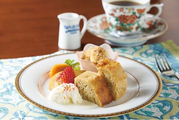 おうちカフェこんぺいとう / バナナケーキと飲み物(セット¥800)