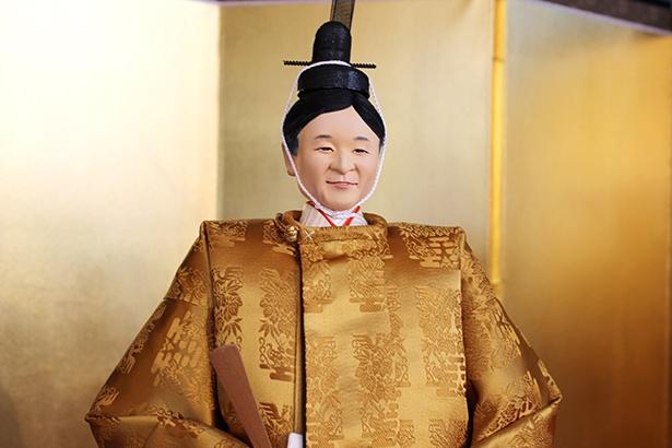 皇太子さまをモデルにした男雛