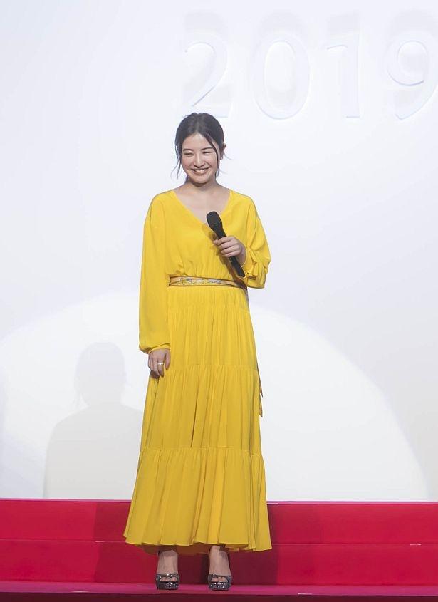 食べログ初のCMに出演する吉高由里子