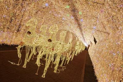 電球数320万個!御殿場から程近い「時之栖 冬のイルミネーション」は寄っていきたい