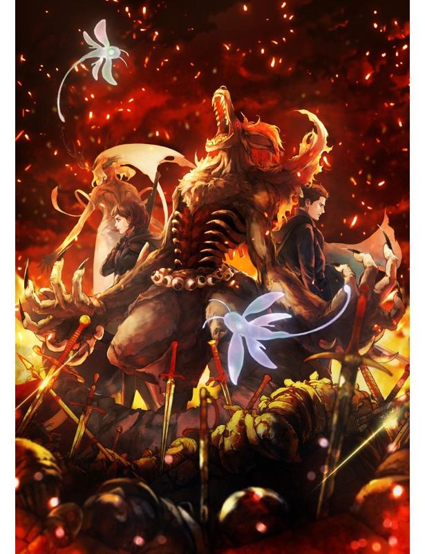 P.A.WORKSが制作するオリジナルTVアニメ「Fairy gone フェアリーゴーン」が4月から放送決定!
