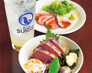 大阪で高知の味を満喫できる!カジュアルな雰囲気の和バル「酒と肴 SUIGEI」