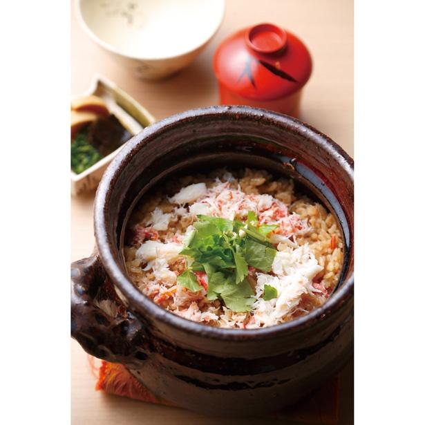 岩船産コシヒカリを土鍋で炊き上げた炊き込みご飯