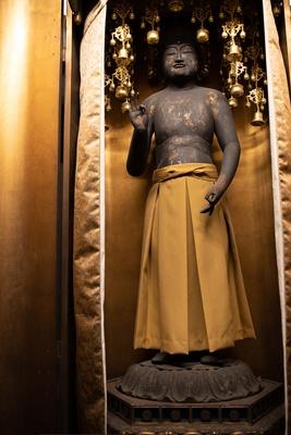 日本に現存するのは4体のみという裸の阿弥陀如来像