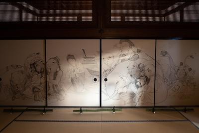 「建仁寺 両足院」障壁画