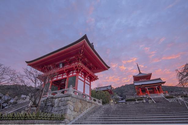 清水寺の門