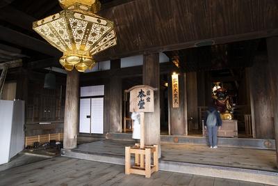 国宝に指定されている清水寺の本堂