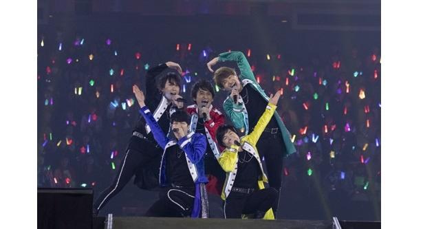「あんさんぶるスターズ!Starry Stage 2nd 〜in 日本武道館〜」より流星隊