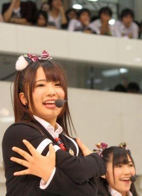 学校には毎日遅刻寸前に到着するという平嶋夏海さん