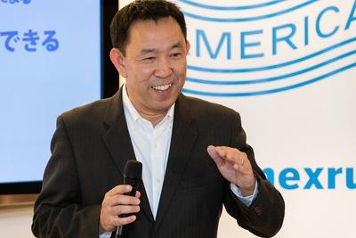 セミナー中の山田先生