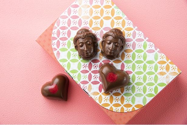 鎌倉のシンボルがチョコになって運気UP!?「鎌倉チョコレートパラダイス」の「ごりやくショコラ」(6個入り790円)